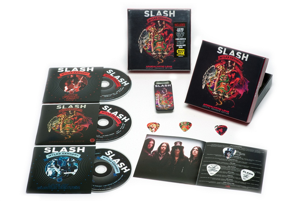 Slash Releases Deluxe Apocalyptic Love